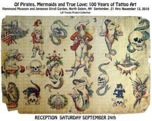 Of Pirates, Mermaids and True Love: 100 Years of Tattoo Art   Lift Trucks Tattoo Flash Art Collection